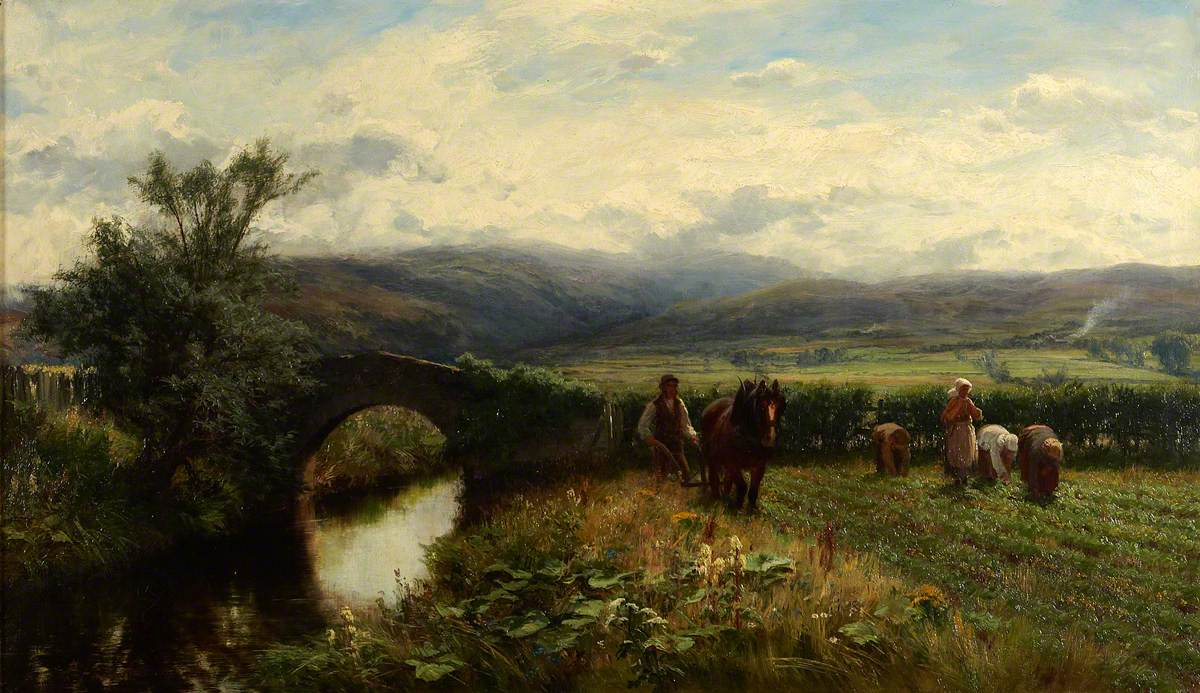 Farquharson, David; The Banks o' Allan Water; Royal Scottish Academy of Art & Architecture; http://www.artuk.org/artworks/the-banks-o-allan-water-206475