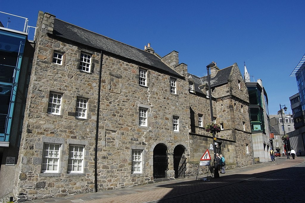 Photograph of the Provost Ross' House on Shiprow, Aberdeen.