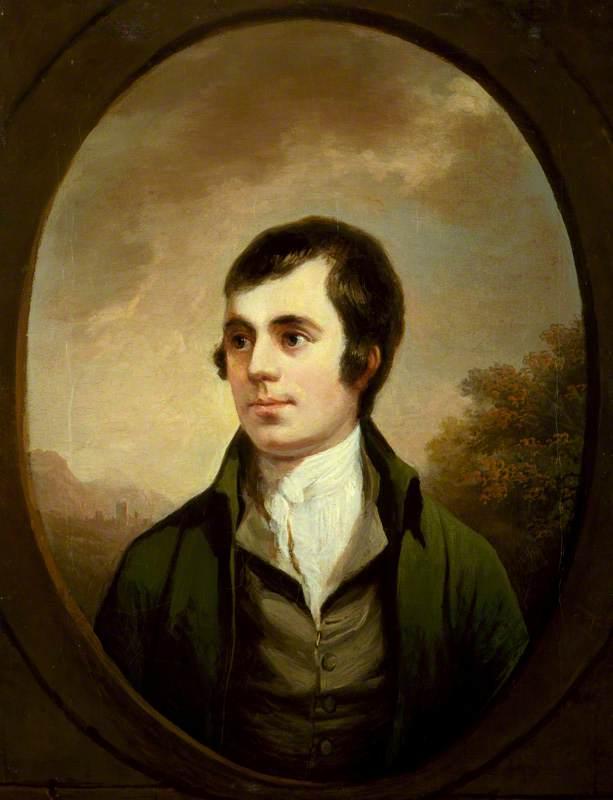 Alexander Naysmyth; Robert Burns; 1821-22. National Portrait Gallery, London; http://www.artuk.org/artworks/robert-burns-157341