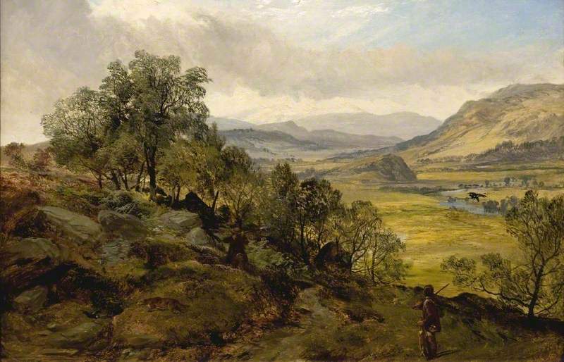 Adam, A painting of Strathblane by Joseph Adam, and Robert Henry Roe, date unknown. Glasgow Museums; http://www.artuk.org/artworks/strathblane-83006