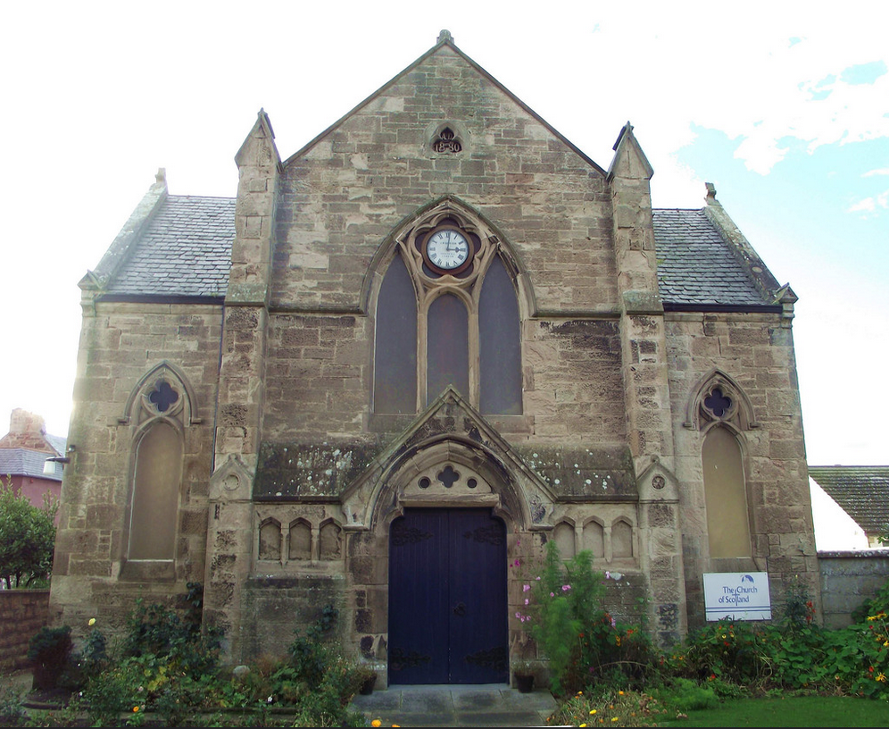 Photograph of Arderseir Parish Church near Inverness, Scotland. Taken by Dave Connor in 2015.
